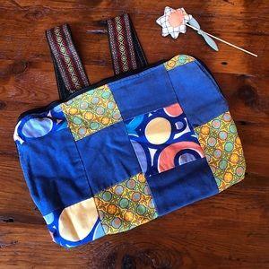 🌼 Handmade Patchwork Back Pack